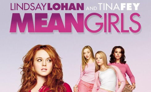 Lindsay Lohan dalam film Mean Girls